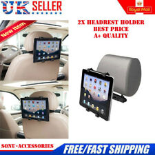 """2 x Headrest Seat Car Holder  Universal Mount for iPad 1 2 3 4, Air & 9"""" Tablets"""