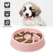 Dog Cat Slow Feeder Bowl Plastic Non-Slip Dishwasher Safe Pet Puzzle Dish