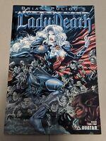 Brian Pulido's Medieval Lady Death #2 April 2005 Avatar Press Comics  WRAP Var