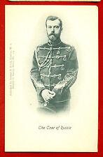 Tsar Nicholas II Romanov Of Russia VINTAGE POSTCARD 974