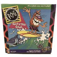VTG New Milton Bradley - SURF & TOSS  POG GAME - Very RARE 1995 Sealed Free Ship