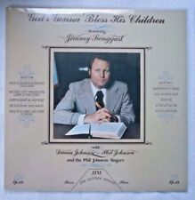 GOD'S GONNA BLESS HIS CHILDREN  JIMMY SWAGGART PHIL JOHNSON SINGERS  #LP-124
