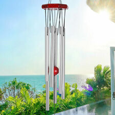 """30"""" Wind Chimes Deep Tone Large with 6 Large Tubes Gift for Garden Hanging Decor"""