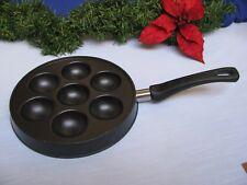 Nordic Ware Ebelskiver Pan 7 Nonstick Wells Pancake Balls Eggs Xmas Aebleskiver