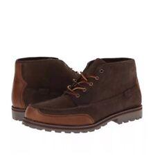 POLO Ralph Lauren Men's Boot WATERTON, Dark Brown Ankle Lace Size 12 D