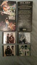 The Who Thirty Years Of Maximun R&B 4CD Box Set Plus booklet Excellent condition