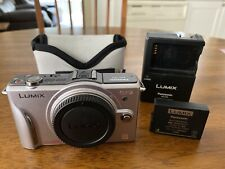 Lumix GF2 Camera Body, Silver, Excellent Condition
