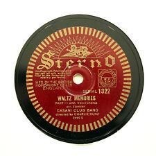 "CASINI CLUB ORCHESTRA ""Waltz Memories"" (EE+) STERNO 1322 [78 RPM]"