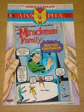 MIRACLEMAN APOCRYPHA #3 ECLIPSE COMICS NEIL GAIMAN ALAN MOORE FEBRUARY 1992 X