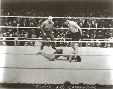 JACK TUNNEY vs GEORGES CARPENTIER 8X10 PHOTO BOXING PICTURE