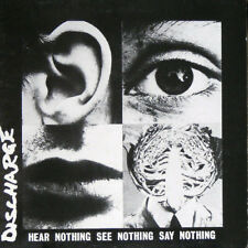 Discharge ‎– Hear Nothing See Nothing Say Nothing CD - New Digipak Re (2007)