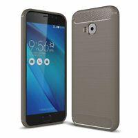 ASUS Zenfone 4 Selfie ZD553KL Hülle Case Handy Cover Schutz Schutzhülle Grau
