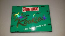 "1991 Donruss ""The Rookies"" Sealed Factory Set - Jeff Bagwell/Ivan Rodriguez RC"
