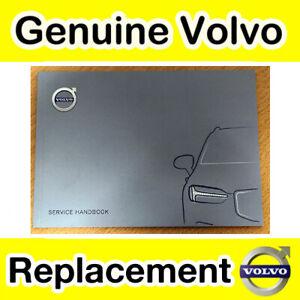 Genuine Volvo Service Record Book (All 2015 Models)