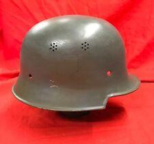WW2 GERMAN STEEL HELMET SHELL LEICHIMERALL FACTORY GUARDS ORIGINAL.