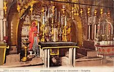 JERUSALEM ISRAEL~LE CALVAIRE-GOLGATHA-POSTCARD 1910s