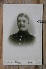 Konitz  Westpreußen  Bart !!!   Soldat  (16,5x10,5) Original Kabinett Foto
