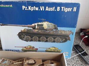 Eduard 1/35 tiger II ausf b weekend build