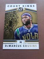 2017-18 Donruss Optic Court Kings #23 DeMarcus Cousins New Orleans Pelicans