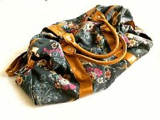 Large Spacious Vintage Beach/School/Laptop/Summer Bag Casual Handbag Strap Blue