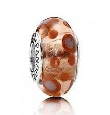 AUTHENTIC PANDORA #790688 CINNAMON BUBBLES CHARM BRAND NEW NEVER WORN SILVER