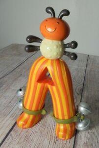Musical Toy Instrument Battat MyBToys Tambourine Bee Rattle Bug Ant Bells