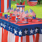 Patriotic Table Skirt - Party Supplies - 1 Piece