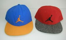 Two (2) Jumpman Nike Air Jordan Snapback Hats Basketball Baseball Cap Kid Youth