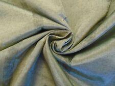 14 Metres Silver Grey Faux Silk Geometric Curtain & Interior Fabric Art Deco