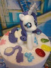 My LITTLE PONY RARITY, fatti a mano, Compleanno, Decorazione per Torta