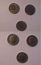 LOTTO 3 MONETE  20 centesimi FRANCHI SVIZZERI - 1947  1962