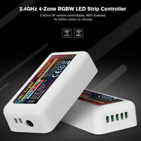 Milight 2.4G Wireless 4 Zone Wifi RF dimmer Controller for RGBW LED Strip Light