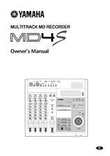 Yamaha MDX-595 Minidisk Recorder Owners Manual