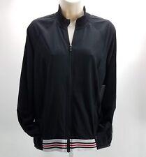 Mondetta Womens Full Zip Jacket Athletic Casual Sz Small Black F2
