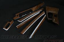 BMW 5er F10 F11 Dekorleisten Edelholz Esche Beige Interieurleisten Leisten trim