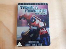 Transformers the Movie DVD Steelbook