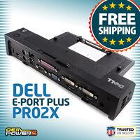 Dell Latitude E6510 E6520 E6530 E6540 E-Port Plus Replicator/Dock Station/PR02X