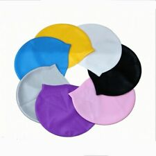 Swimming Cap Silicone Hat Waterproof Adult Men Woman Child Caps