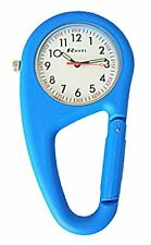 Reloj De Cuarzo Ravel Clip de cinturón Reloj con caja de regalo de presentación, Unisex Con Silve