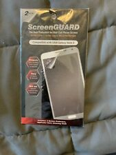 Screen guard cell phone protector compatible with Sam galaxy note 3