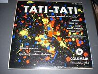 TATI-TATI Symphonic Paraphrases on Chopsitcks LP Werner Janssen Columbia ML 4480