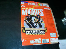 Pittsburgh Penguins 91-92 commenorative wheaties box Unlicensed version