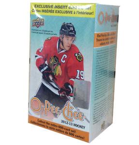 2012-13 O-Pee-Chee NHL hockey cards Red Version Blaster Box