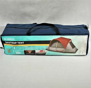 Magellan Outdoors Bastrop 5 Person Dome Tent In Red New