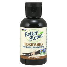 Stevia Liquide Gouttes Français Goût Vanille 60ml 0 Calorie sans Sucre
