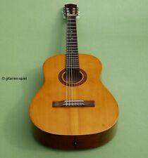 Vintage 7/8 Konzert-Gitarre Klira Mod. Kessler Deluxe Fichte Ahorn Kult Rar Top!