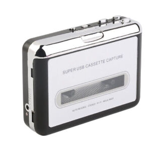 Tape to USB Cassette&MP3 CD PC Converter Capture Digital Audio Music Player