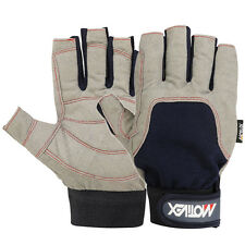 Sailing Gloves Yachting Canoe Kayak Dinghy Rope Waterski Outdoor Cut Finger XS