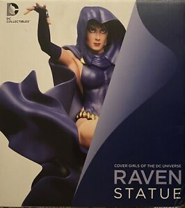 DC Collectibles DC Comics Cover Girls: RAVEN! Statue NEW Adam Hughes Starfire