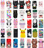 Cute Disney Cartoon Soft Silicone Cover Case For Touch 6 iPhone 5S SE 6S 7 8Plus
